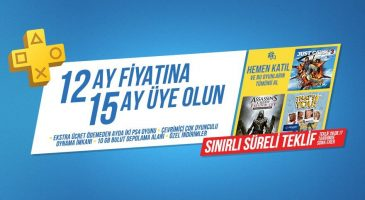 Playstation Plus 12 aylık abonelik