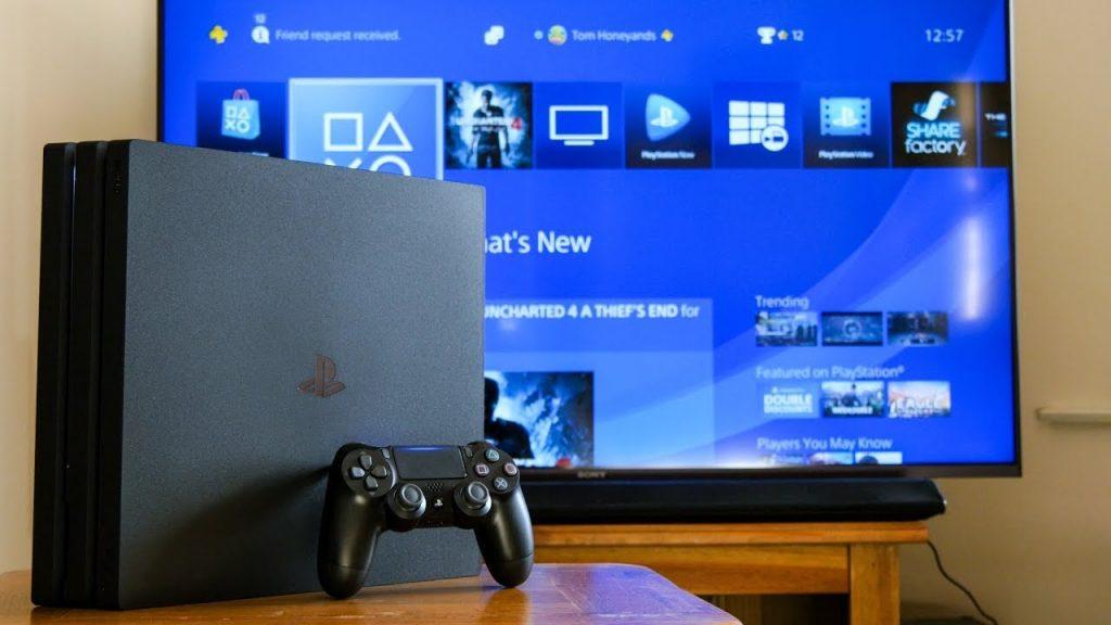 PlayStation 4, PS4, sistem yazılımı güncellemesi