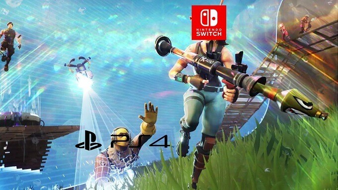 Fortnite Sony PS4 Nintendo Switch paladins