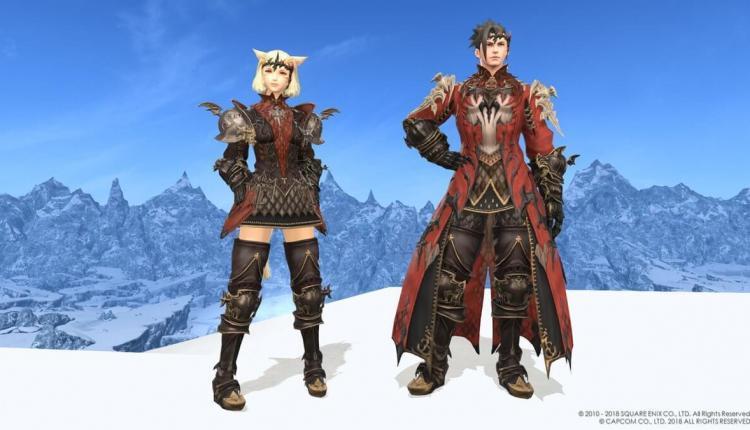 Final Fantasy 14 X Monster Hunter World monster hunter world