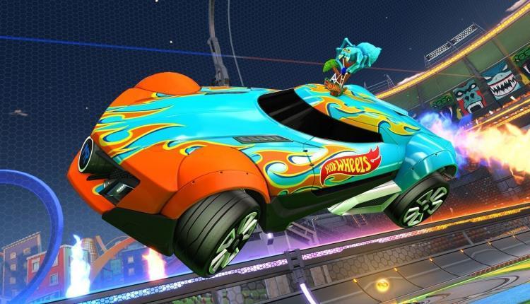 Rocket League Hot Wheels Triple Threat DLC Paketi rocket league