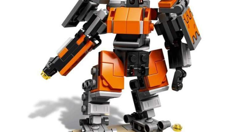 Overwatch LEGO Bastion overwatch