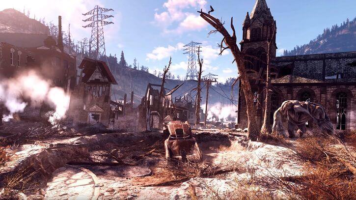 Fallout 76 taşıt kullanımı fallout 76
