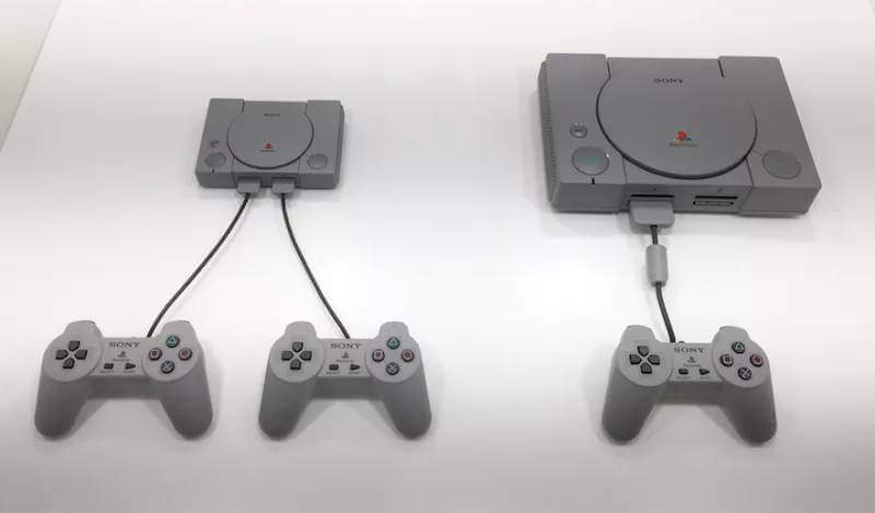 PlayStation Classic ve PS1 playstation classic