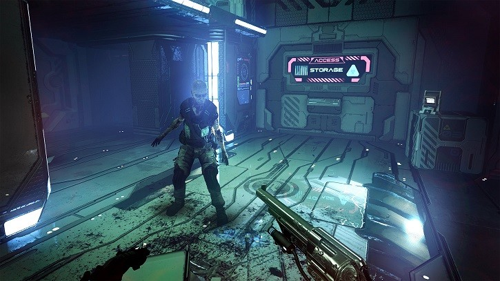 The Persistence PS VR demo the persistence