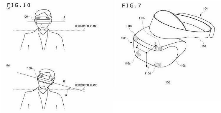 PS VR göz takip patenti ps vr