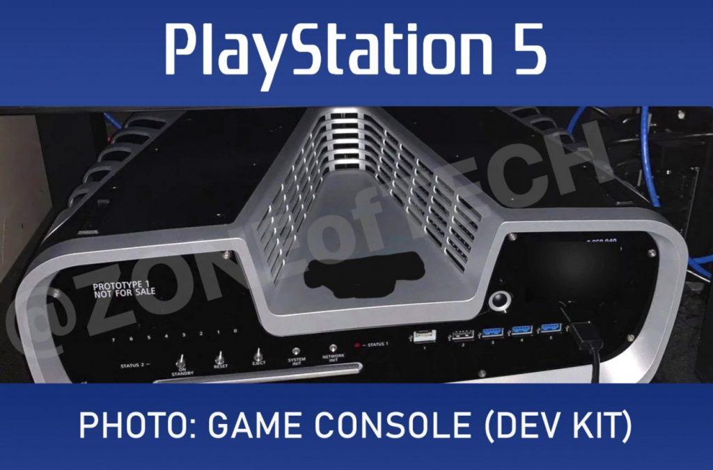 PlayStation 5 geliştirme kiti tasarım playstation 5