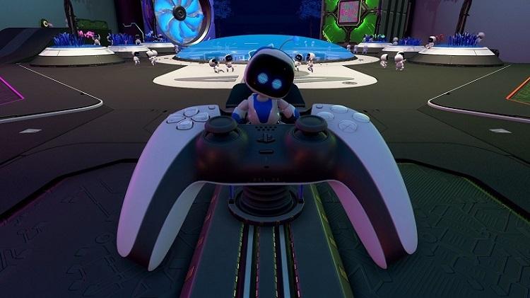 Astro's Playroom, Dualsense
