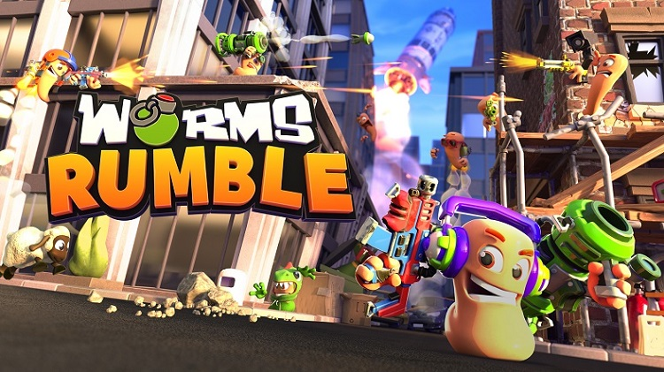 Worms Rumble, battle royale, team17