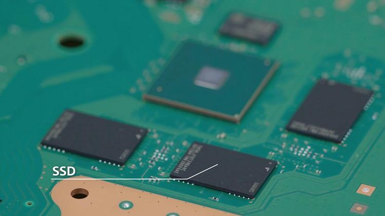 PS5, SSD depolama alanı